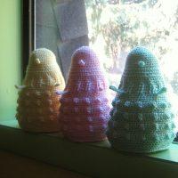 Doctor Who Dalek Plush Baby Toy