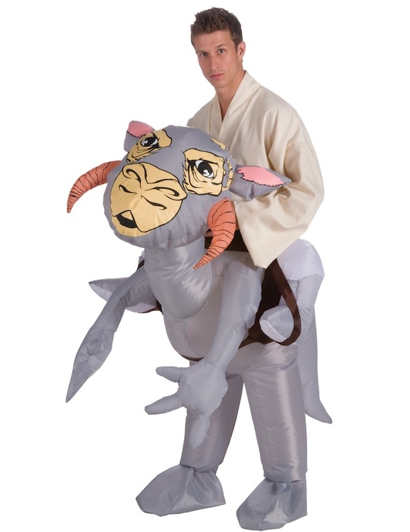 tauntaun costume luke Star Wars Riding a Tauntaun Inflatable Costume