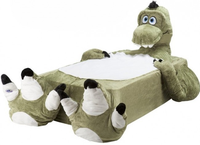 Incredibeds Giant Animal Kids Beds Craziest Gadgets - T rex bed