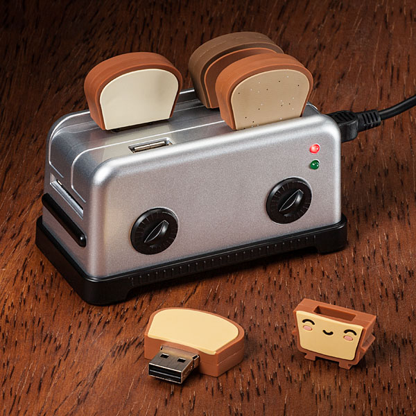 usb toaster hub USB Toaster Hub with Toast Flash Drives