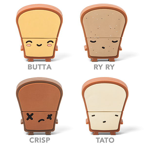 usb toaster thumbdrives USB Toaster Hub with Toast Flash Drives
