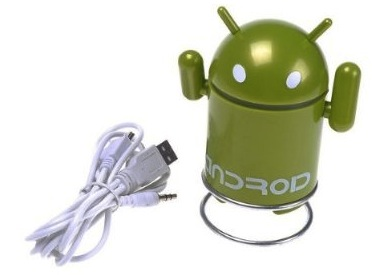 Android Droid Rechargeable Speaker