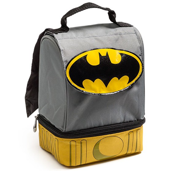 Batman Caped Lunch Bag