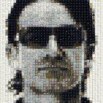 Celebrity Keyboard Keys Portraits