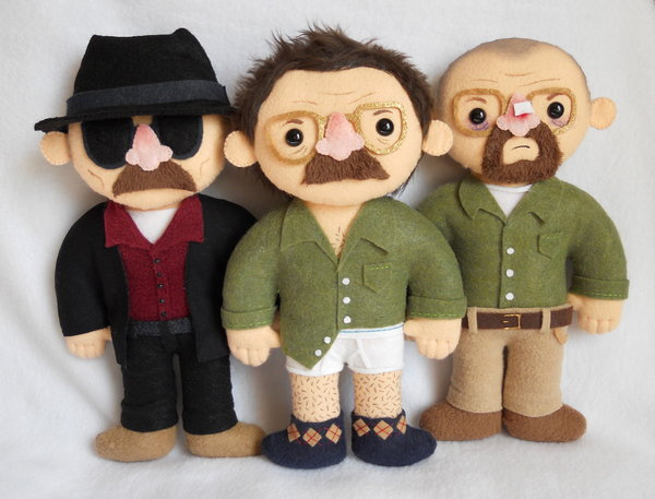 Plush Breaking Bad Characters
