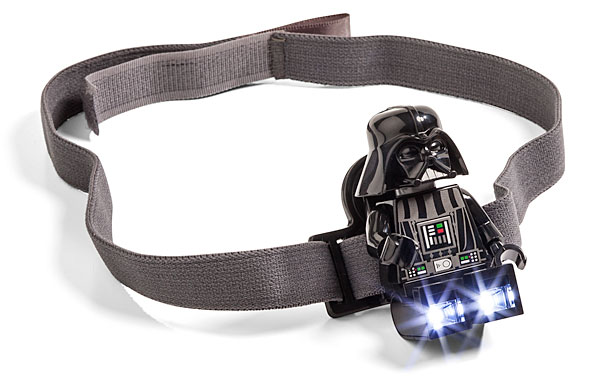 Lego Darth Vader Head Lamp