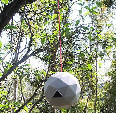 geo birdhouse Geodesic Dome Birdhouse