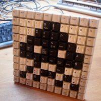 Space Invaders Keyboard Keys
