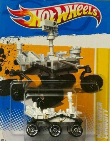 Mars Rover Curiosity Hot Wheels