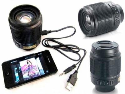 Nikon Lens USB Speaker