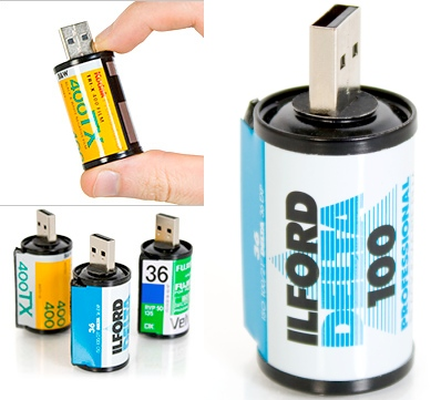 Roll of Film USB Flash Drives