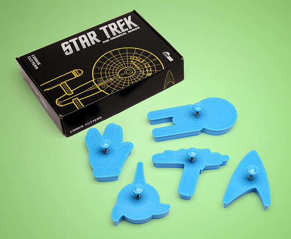 star trek cookie cutters box Star Trek Cookie Cutters: Set Phasers to Yum