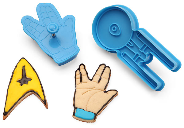 star trek cookie cutters Star Trek Cookie Cutters: Set Phasers to Yum