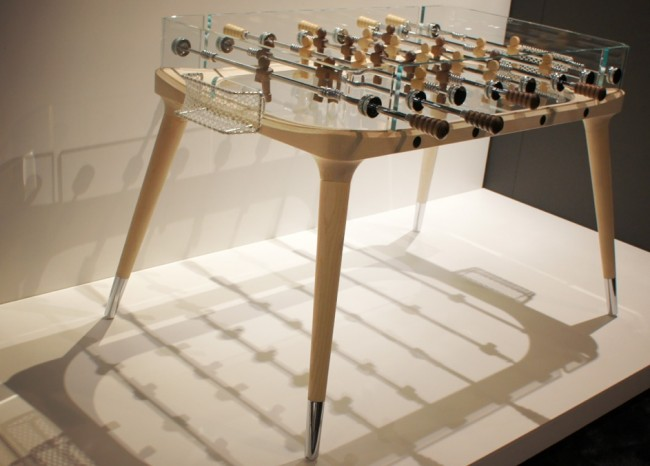 teckell foosball 650x466 Worlds Most Beautifully Designed Foosball Table