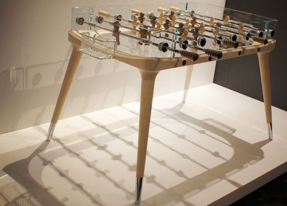 World S Most Beautifully Designed Foosball Table Craziest