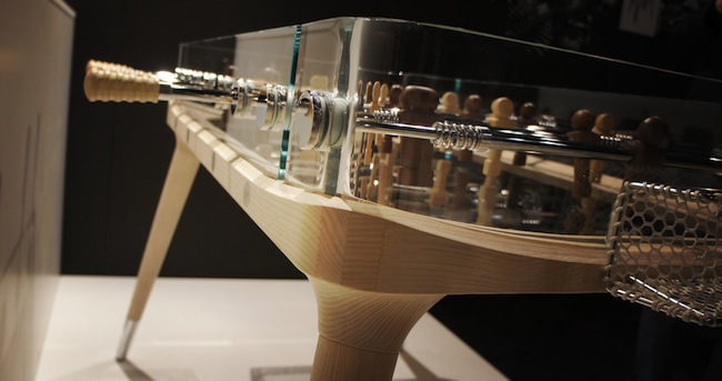 teckell foosball2 Worlds Most Beautifully Designed Foosball Table