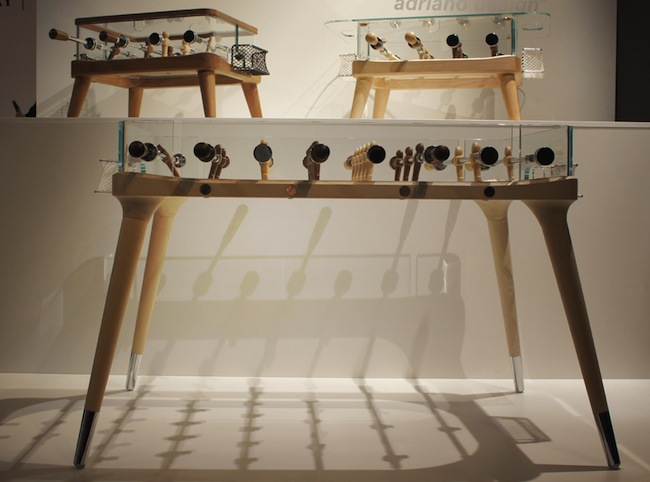teckell foosball3 Worlds Most Beautifully Designed Foosball Table