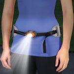 Waistband Mounted Flashlight: Better than a Headlamp