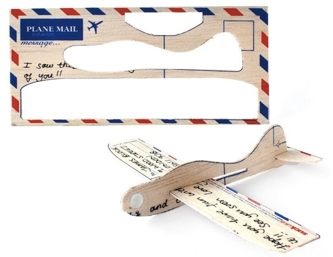 Postcard Airplane is Truly Airmail