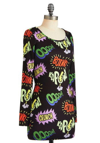 Comic Relief Dress: Bam! Pow!