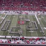 Ohio State University Marching Band Video Game Routine