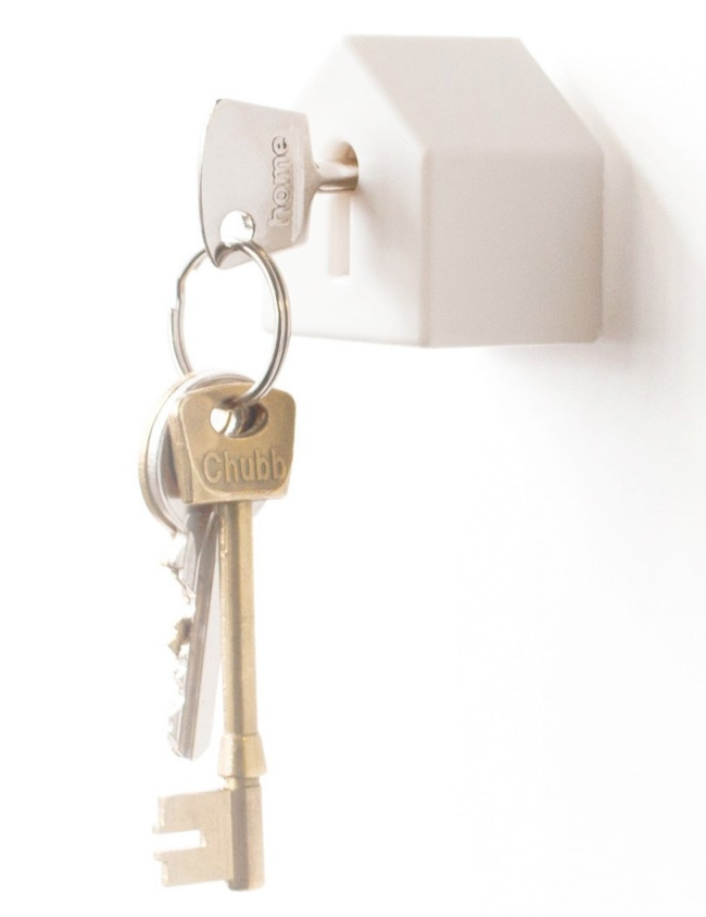 Wall Mounted House Key Holder