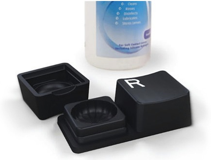 Keyboard Keys Contact Lens Case