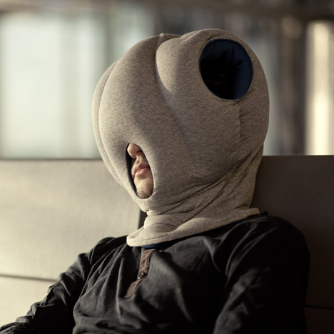 Ostriches Are Known For Burying Their Heads In The Sand And Now You Can Bury Your Head Hands Bizarre Ostrich Pillow This Odd Lets