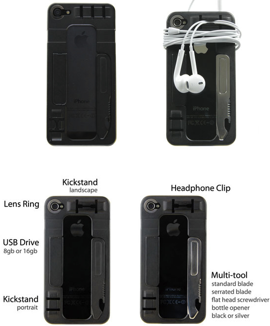 ReadyCase is the Swiss Army Knife of iPhone Cases