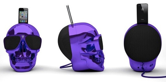 Skull Shaped Speaker Dock