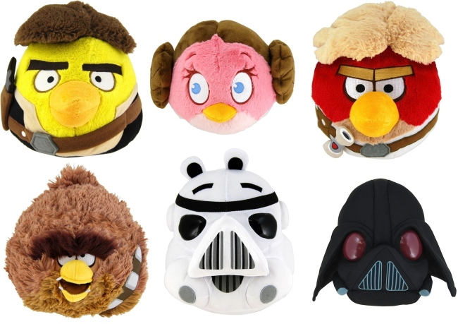 Plush Angry Birds Star Wars Characters