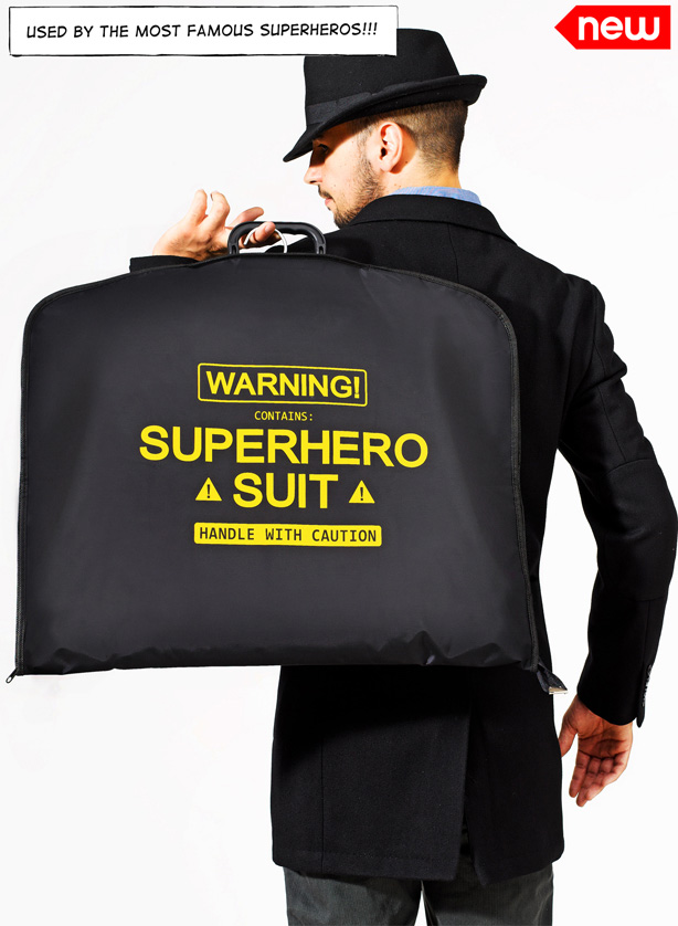 Superhero Suit Bag