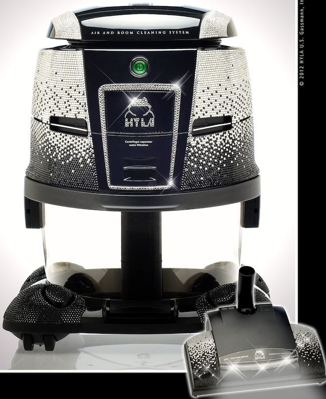 Vacuum Cleaner with 32,000 Crystals is World's Most Expensive