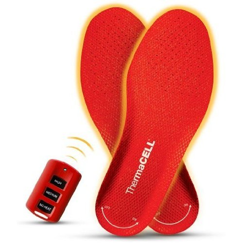 ThermaCell Remote Controlled Heated Shoe Inserts