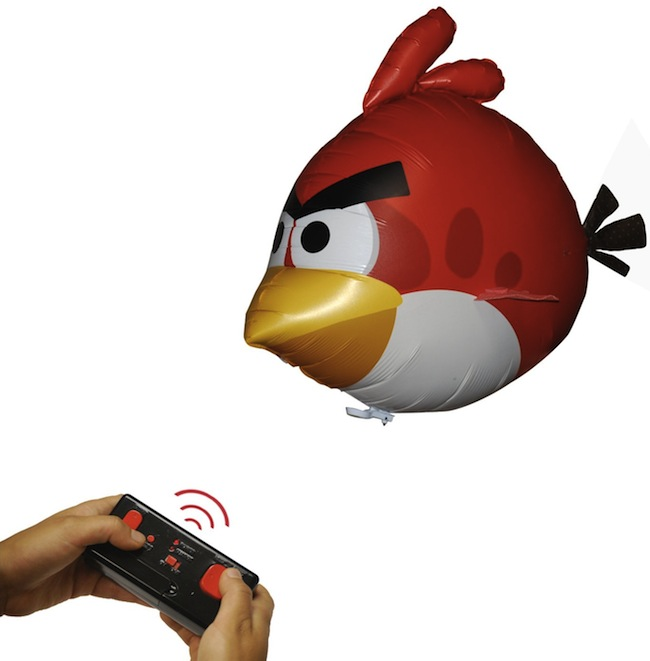 Angry Birds Air Swimmers Flying Remote Control Balloon Toy