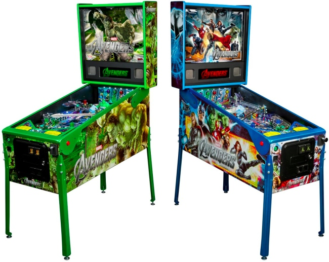 Stern Pinball Announces Avengers Pinball