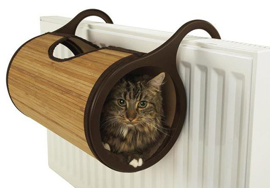 Bamboo Cat Radiator Bed