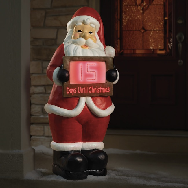Countdown to Christmas Santa