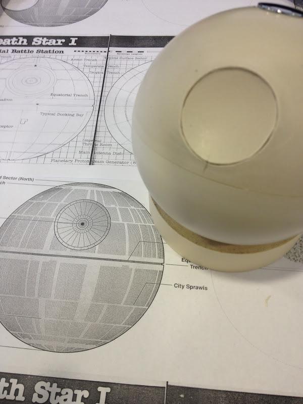 death star plans Levitating Light Up Death Star Globe