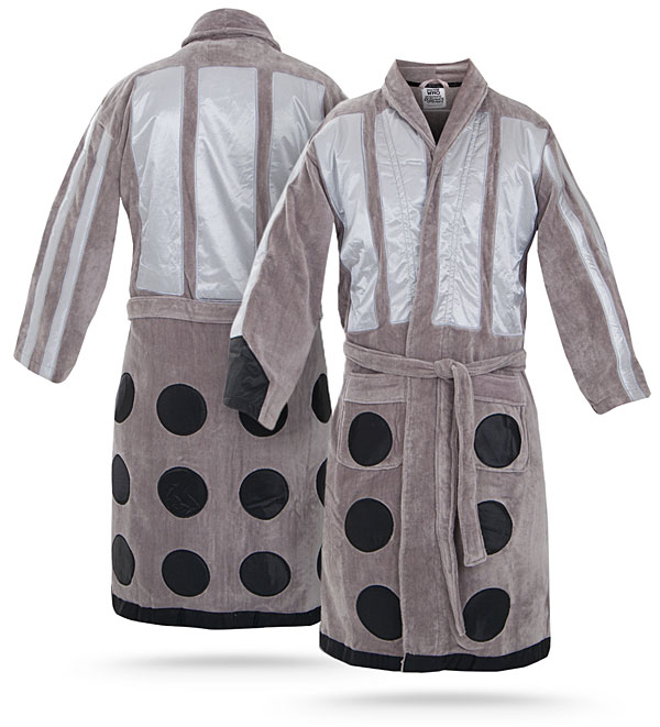 doctor who dalek bathrobe Doctor Who Dalek Bathrobe