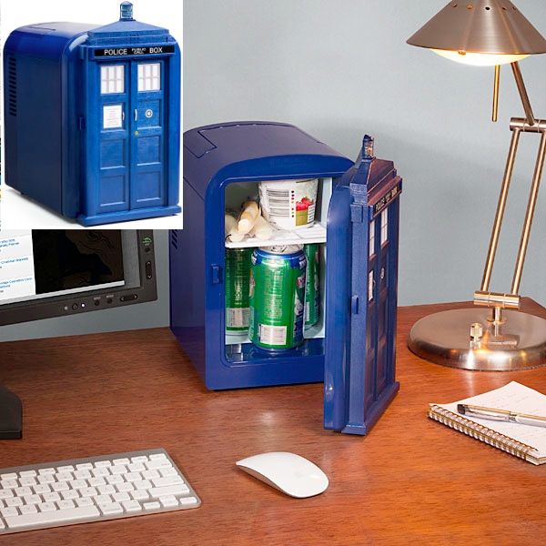 doctor who tardis mini fridge Pinboard