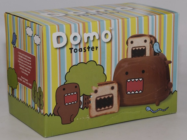 domo toaster box Domo Toaster Makes Domo Toast
