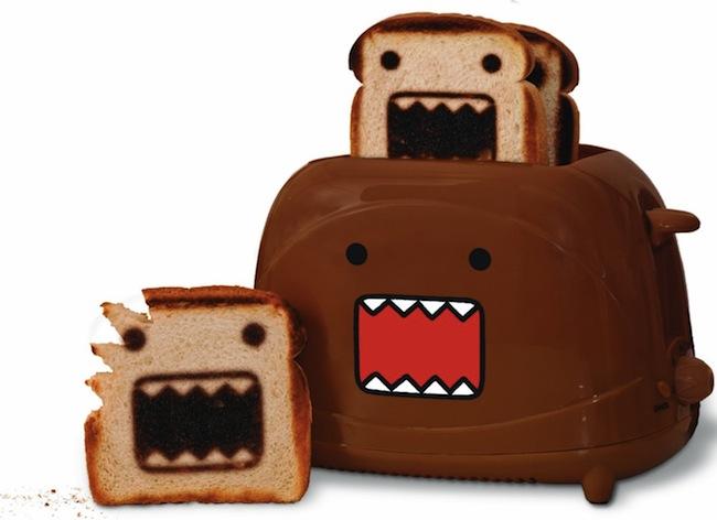 Domo Toaster Makes Domo Toast