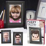 Fuzzy Face Photo Frame