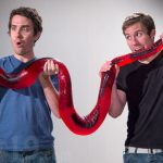 7 Foot Long, 26 Pound Gummy Python