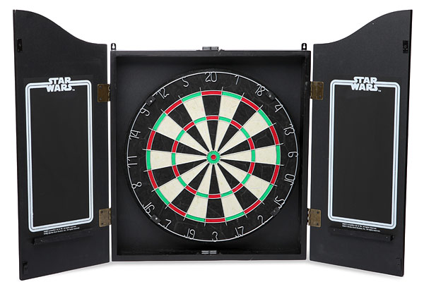 inside star wars dart board Star Wars Dart Board