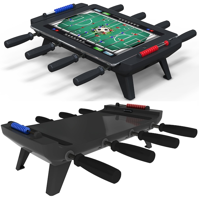 ipad foosball Turn the iPad into a Mini Foosball Table