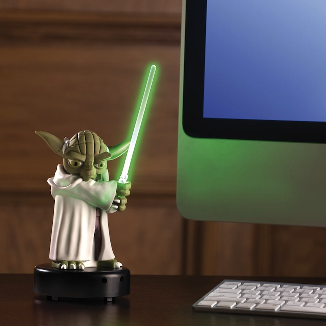 motion yoda Motion Activated Talking Yoda Sentry