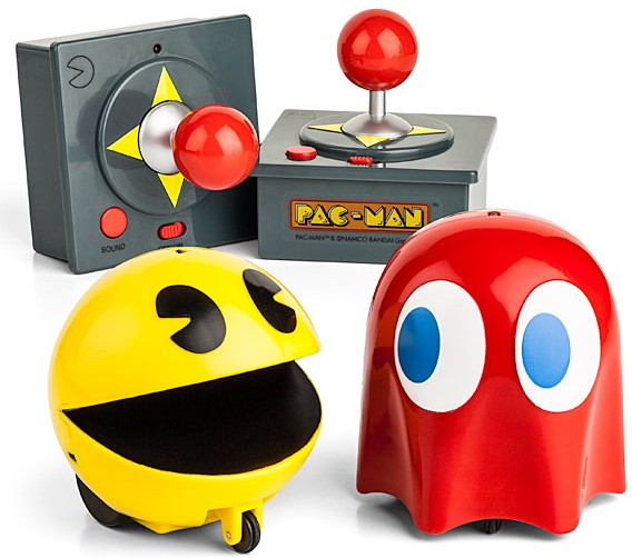 pac man ghost rc e1353348483536 Remote Controlled Pac Man and Ghost Set