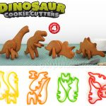 3-D Dinosaur Cookie Cutters